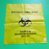習慣HDPE/LDPE/PP Biohazardの医学のごみ袋、標本袋