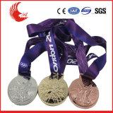 Heißer Verkauf fertigen fördernde Metallantike-Medaille kundenspezifisch an