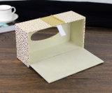 호텔 사용 (PJ-002)를 위한 Lu 가죽을%s 가진 직사각형 조직 상자