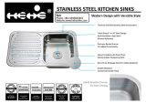 """32-1/4 bassin de cuisine simple de cuvette de support de dessus d'acier inoxydable de """" X 18-3/4 """" avec le panneau de drain"""