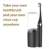Eléctrico Aiwejay sónico recargable compacta y limpiar los cepillos de dientes adultos