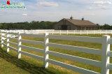maintenance gratuite 4 rails en plastique blanc en vinyle Horse Farm Escrime