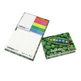 Bloc-notes de l'article note avec Note adhésive colorés, cadeau promotionnel autocollant Pad