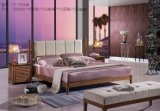 Modern Houten Tweepersoonsbed Confortable Van uitstekende kwaliteit voor het Meubilair van de Slaapkamer
