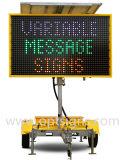Il rimorchio di Optraffic ha montato un segno di pubblicità elettronico ambrato di 5 colori LED