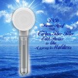 Testa di acquazzone del prodotto della stanza da bagno con il filtro dalla fibra del carbonio