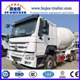 構築のための9cbm 30ton 336HP HOWO 6X4の具体的なミキサーのトラック