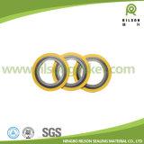 Rilson Asme B 16.20 de Spiraalvormige Pakking van de Wond in Ningbo met Centrale en BinnenRing