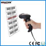 Высокое качество лазерный сканер штрих-кодов, считыватель штрих-кодов, сканер пистолет, декодер USB, Mj2806
