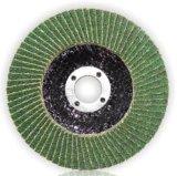 Het Malende en Oppoetsende Staal van de groene Alumina van het Zirconiumdioxyde Schurende Schijf