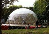 La cúpula de 15m tienda de campaña para su piscina Habitación familiar o un salón de eventos para el lanzamiento del producto