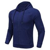 Élégant manteau décontracté unisexe tricoté Zip Hoodie veste de loisirs extérieurs