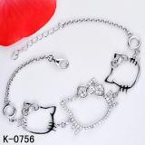 Braccialetto di modo dei monili del braccialetto dell'argento sterlina di stile 925 di modo