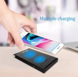 Cargador rápido de Wireless N600 de 5W 7.5W 10W el teléfono móvil inalámbrica Qi Cargador para iPhone Samsung