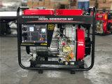 Generatore diesel 5kw del blocco per grafici aperto