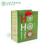 La impresión de alta capacidad de Flor Bolsas Navidad bolsas de papel