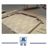 ホテルの床タイルのためのAranの自然な磨かれた白い大理石かモザイクまたはタイルまたは平板または壁のクラッディングまたは建築材料かBathtops/Vanitytops