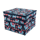 Collapsible Large Non-Woven Fabric Storage Containers for Underwear Clothes