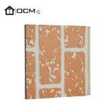 Fibrocemento resistente al fuego Panel de pared exterior