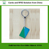ABS di plastica RFID Keyfob di 125kHz Em4100 Tk4100 con la catena chiave (Tag-10)