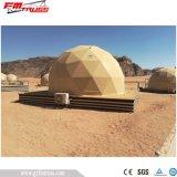 Tenda domestica geodetica dell'hotel del PVC del diametro del lusso 6m/della cupola per in tensione