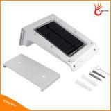 Sensor de movimiento de las luces de inicio de la pared Solar 20 Lámparas de LED con certificado impermeable