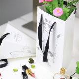 백지 쇼핑 백을 인쇄하는 사랑스러운 디자인 관례