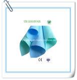 Documento di Crepe blu & verde & bianco di colore