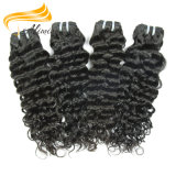 Cabelo Curly humano longo de Remy India melhor Remy