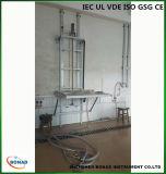 Equipamento de teste vertical da chuva do gotejamento de Ipx1 Ipx2 com plataforma giratória