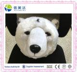 Jouet réaliste de tenture de renne de la meilleure qualité et de tête d'ours blanc