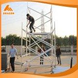 Paso de las escaleras de aluminio de grado 45 tipos de andamios