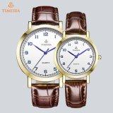 Luxuxpaar-Armbanduhr mit IP-Gold Plating70011