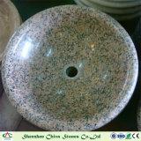 Bassin/bassin rouges de granit pour le bassin de lavage de bassin de Sotne de salle de bains/cuisine