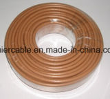 cable coaxial RG6 de la comunicación del conductor de los 305m Bc/CCS/Tc