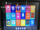 Support androïde 4k H. 265 du Pakistan IPTV de cadre du faisceau Rk3229 TV de quarte de cadre de l'Inde IPTV mieux que Mxq PRO