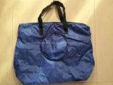 Kundenspezifische Polyester-faltbare Einkaufstasche in Beutel