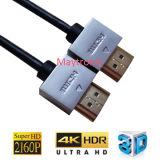 V2.0를 가진 4k HDTV는 HDMI 케이블을 체중을 줄인다