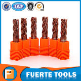 Standard Size 4 Flutes Carbide Machine Tool