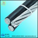 câble supplémentaire de paquet aérien de câble d'ABC 0.6-1kv