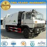 10 roues de Dongfeng 4X2 6 de mètres cubes 10 tonnes de compresse d'ordures et camion de transport