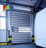 알루미늄 단면도 문 (Hz FC0470)가 산업 실내에 의하여 위로 구른다 금속 롤러 셔터
