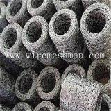압축 뜨개질을 한 철망사 필터