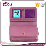 Бумажник PU больших напечатанных женщин кожаный для держать пасспорт, монетки, деньг, телефоны