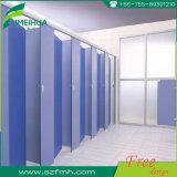 Weißes Farben-Vertrags-Laminat-materielle Dusche-Zelle für Gymnastik
