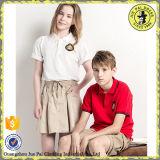Modèle indien de chemises et de jupe de polo pour l'usine moyenne d'uniforme scolaire