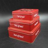 絶妙な正方形のWindowsの錫ボックス/ギフト錫か金属ボックス(S007-V3)