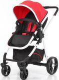 Aluminiumrahmen-Luxuxfalten-Baby-Spaziergänger mit europäischem Standard