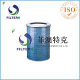 Воздушный фильтр Filterk P190848 цилиндрический F9 HEPA для фильтра забора воздуха газовой турбины