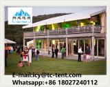 De Dubbele Tent van uitstekende kwaliteit van de Toevlucht van de Tent van eco-Pagpda van de Structuur van het Dek voor Glamping, Hotel, Park